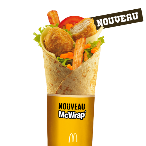 Grand McWrap Sauce Miel Moutarde